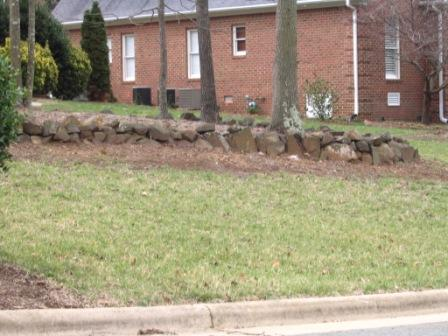 retaining walls | Diana Digs Dirt